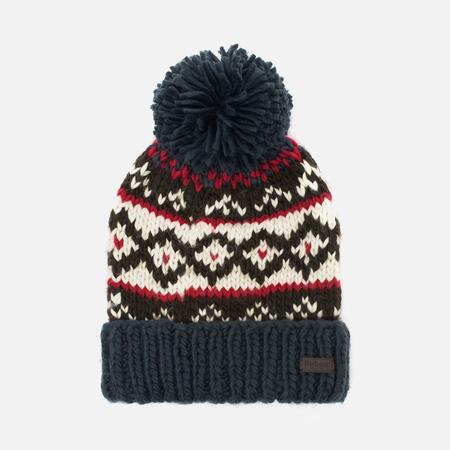 Barbour Easton Beanie Hat Navy