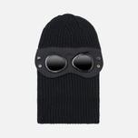 Шапка C.P. Company Balaclava Goggles Black фото- 0