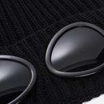 Шапка C.P. Company Goggle Beanie Wool Caviar фото- 1