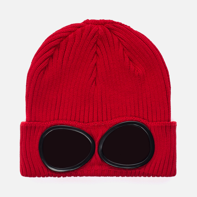 Шапка C.P. Company Goggle Beanie Chinese Red