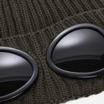 Шапка C.P. Company Goggle Beanie Dark Olive фото- 1
