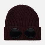 Шапка C.P. Company Goggle Beanie Wool Fudge фото- 0