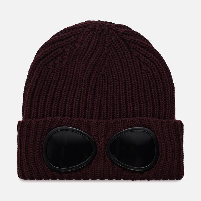 Шапка C.P. Company Goggle Beanie Wool Fudge