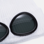 Шапка C.P. Company Goggle Beanie Gauze White фото- 1