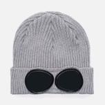 Шапка C.P. Company Goggle Beanie Grey Melange фото- 0