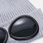 Шапка C.P. Company Goggle Beanie Grey Melange фото- 1