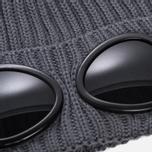 Шапка C.P. Company Goggle Beanie Wool Metall Grey фото- 1