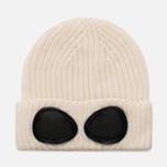 Шапка C.P. Company Goggle Beanie Wool Tapioca фото- 0