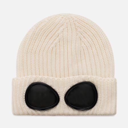 Шапка C.P. Company Goggle Beanie Wool Tapioca