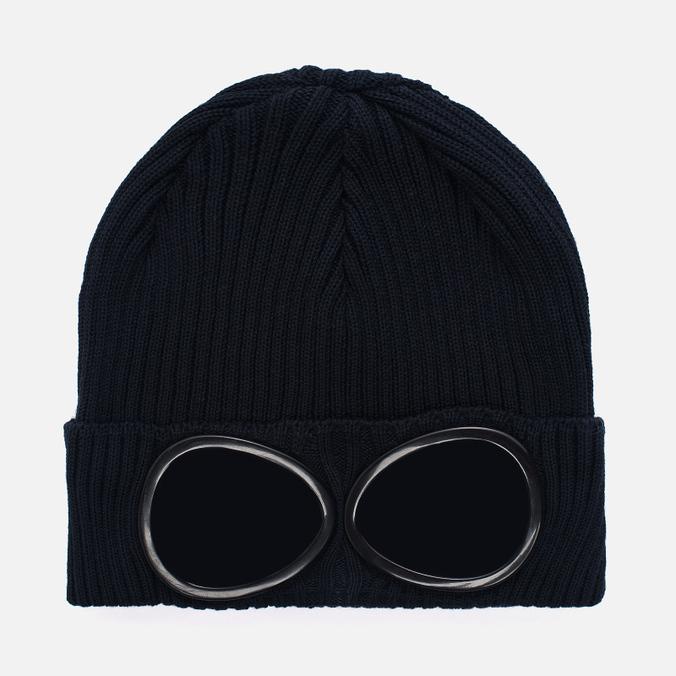 Шапка C.P. Company Goggle Beanie Total Eclipse