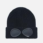 C.P. Company Goggles Hat Black photo- 0