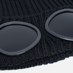 C.P. Company Goggles Hat Black photo- 1