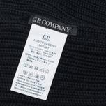 C.P. Company Goggles Hat Black photo- 3