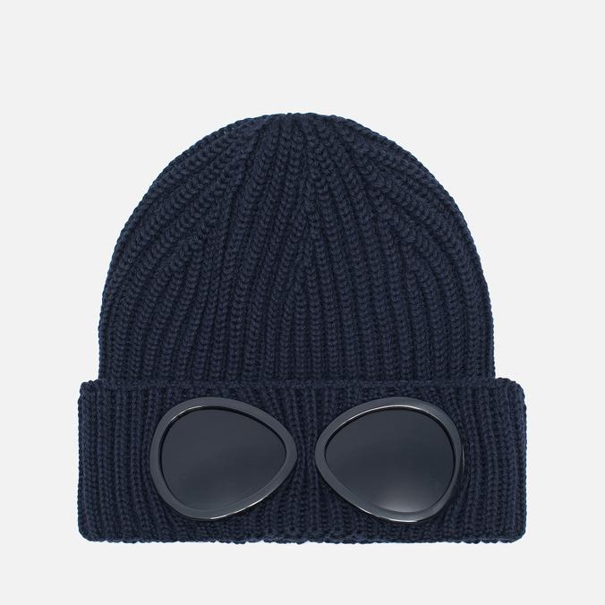 C.P. Company Goggles Hat Blue