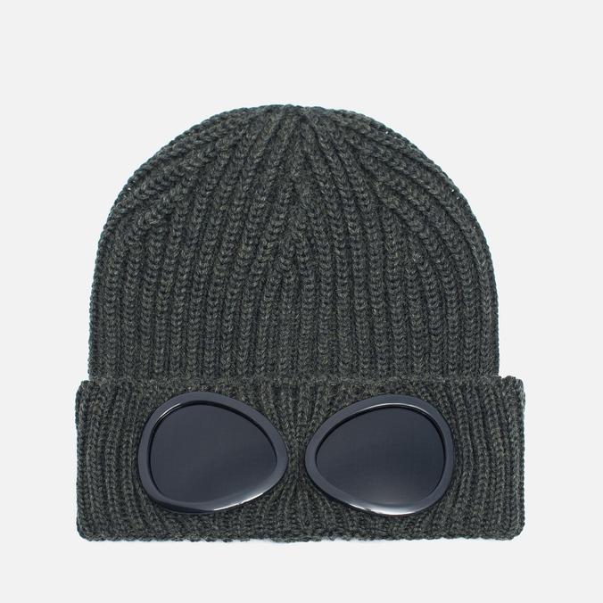 Шапка C.P. Company Goggles Green