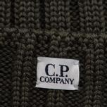 Шапка C.P. Company Wool Beanie Dark Olive фото- 1