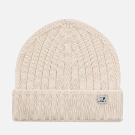 Шапка C.P. Company Wool Beanie Tapioca