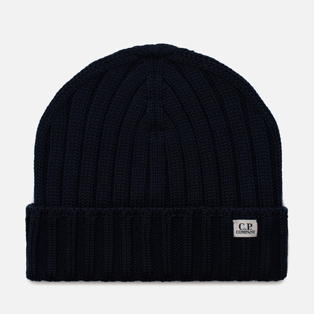 Шапка C.P. Company Wool Beanie Total Eclipse