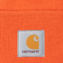 Шапка Carhartt WIP Acrylic Watch Brick Orange фото- 1
