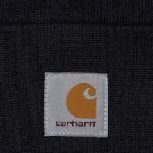Шапка Carhartt WIP Acrylic Watch Dark Navy фото- 1