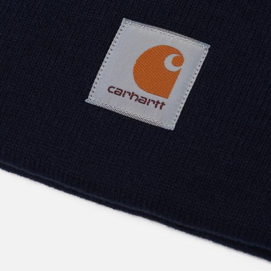 Шапка Carhartt WIP Acrylic Watch Dark Navy