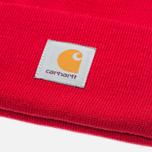 Carhartt WIP Acrylic Watch Hat Rosehip photo- 2