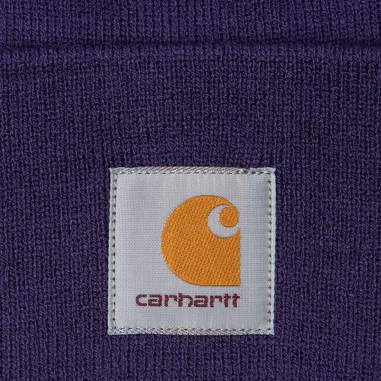 Шапка Carhartt WIP Acrylic Watch Royal Violet