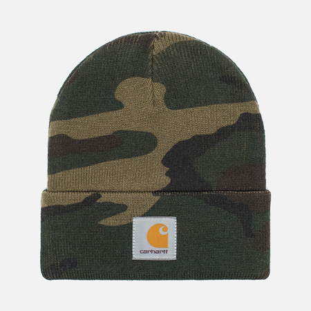 Carhartt WIP Beanie Hat Camo Laurel