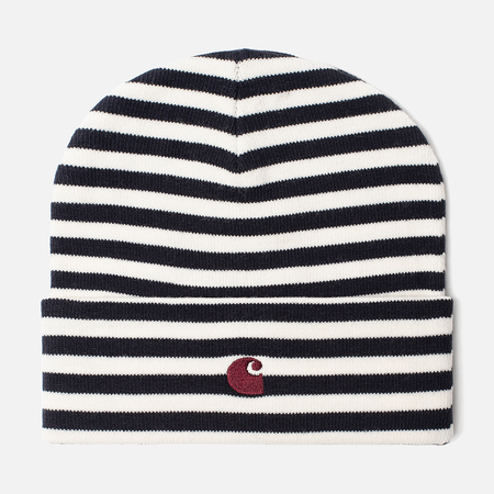 Шапка Carhartt WIP Haldon Stripe Dark Navy/Wax