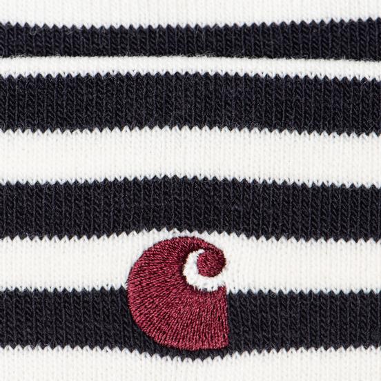 Шапка Carhartt WIP Haldon Stripe Dark Navy/Wax