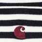 Шапка Carhartt WIP Haldon Stripe Dark Navy/Wax фото - 1
