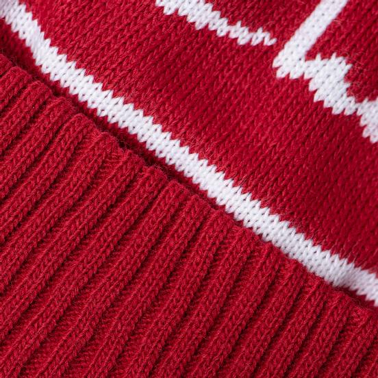 Шапка Champion Reverse Weave Big Logo Pon Pon Dark Red