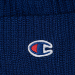 Шапка Champion Reverse Weave Merino Knit Beanie Logo Blue фото- 1