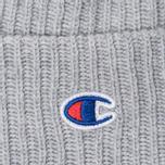 Шапка Champion Reverse Weave Merino Knit Beanie Logo Light Grey фото- 1