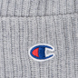 Шапка Champion Reverse Weave Merino Knit Beanie Logo Light Grey фото - 1