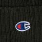 Шапка Champion Reverse Weave Merino Knit Beanie Logo Military Green фото - 1