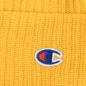 Шапка Champion Reverse Weave Merino Knit Beanie Logo Yellow фото - 1