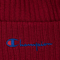 Шапка Champion Reverse Weave Merino Knit Beanie Script Burgundy фото - 1