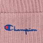 Шапка Champion Reverse Weave Merino Knit Beanie Script Pink фото - 1