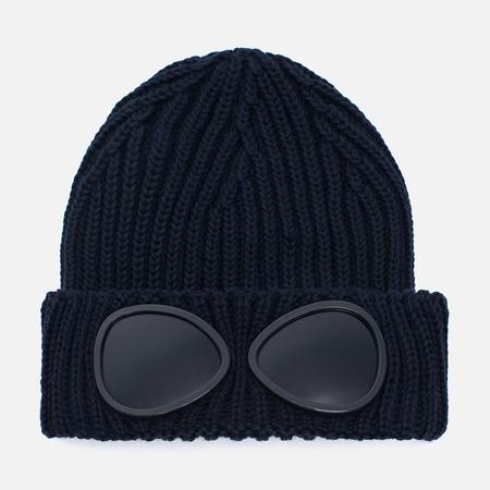 Детская шапка C.P. Company U16 Iconic Goggle Navy