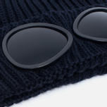 Детская шапка C.P. Company U16 Iconic Goggle Navy фото- 1