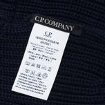 Детская шапка C.P. Company U16 Iconic Goggle Navy фото- 3