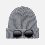 Детская шапка C.P. Company U16 Iconic Goggle Grey фото- 0