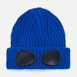 Детская шапка C.P. Company U16 Iconic Goggle Blue фото- 0