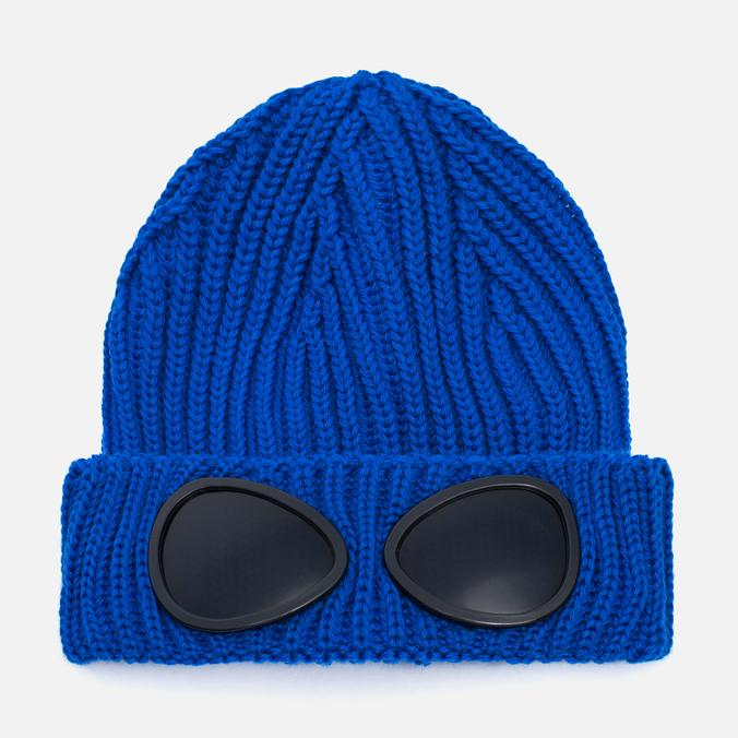 Детская шапка C.P. Company U16 Iconic Goggle Blue