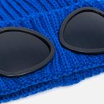 Детская шапка C.P. Company U16 Iconic Goggle Blue фото- 1
