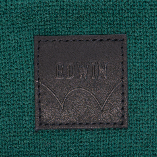 Шапка Edwin Watch Forest Green