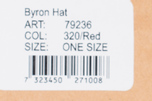 Fjallraven Byron Hat Red photo- 5