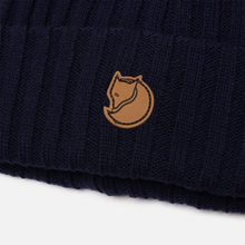Шапка Fjallraven Byron Wool Dark Navy фото- 0
