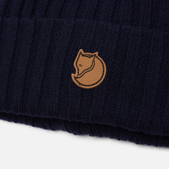 Шапка Fjallraven Byron Wool Dark Navy